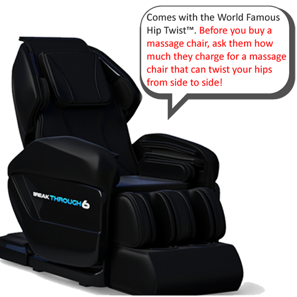 The best massage chair